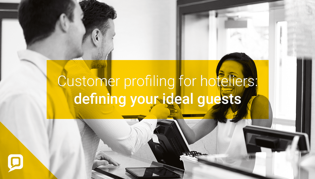 The different customer types in hospitality
