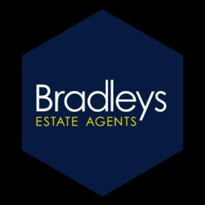 Bradleys logo inside a hexagon