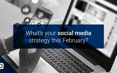 4 social media posts for estate agents this February