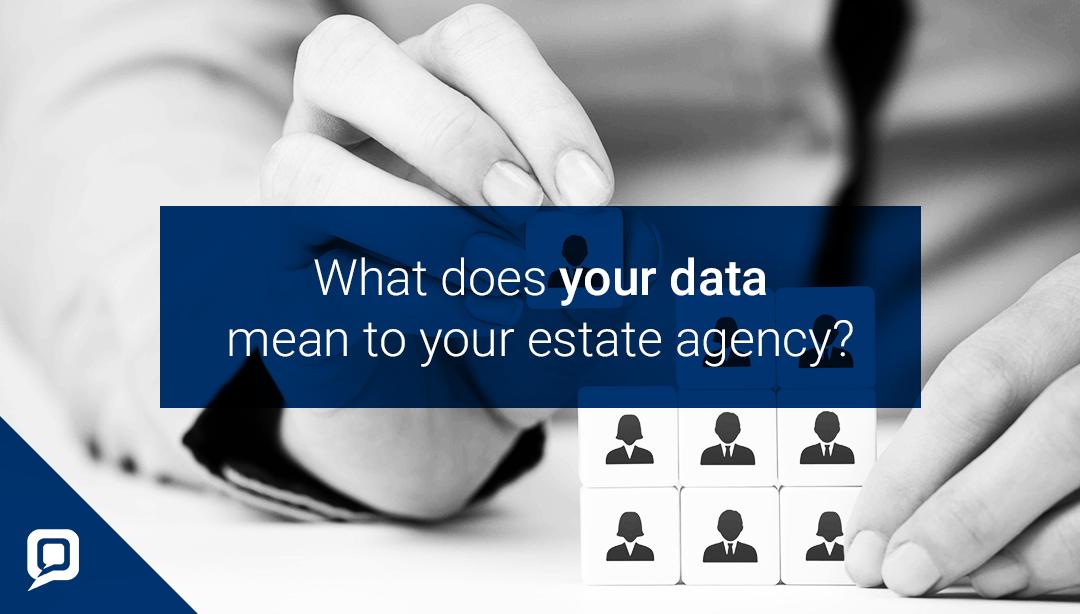 Database usage for estate agents blog