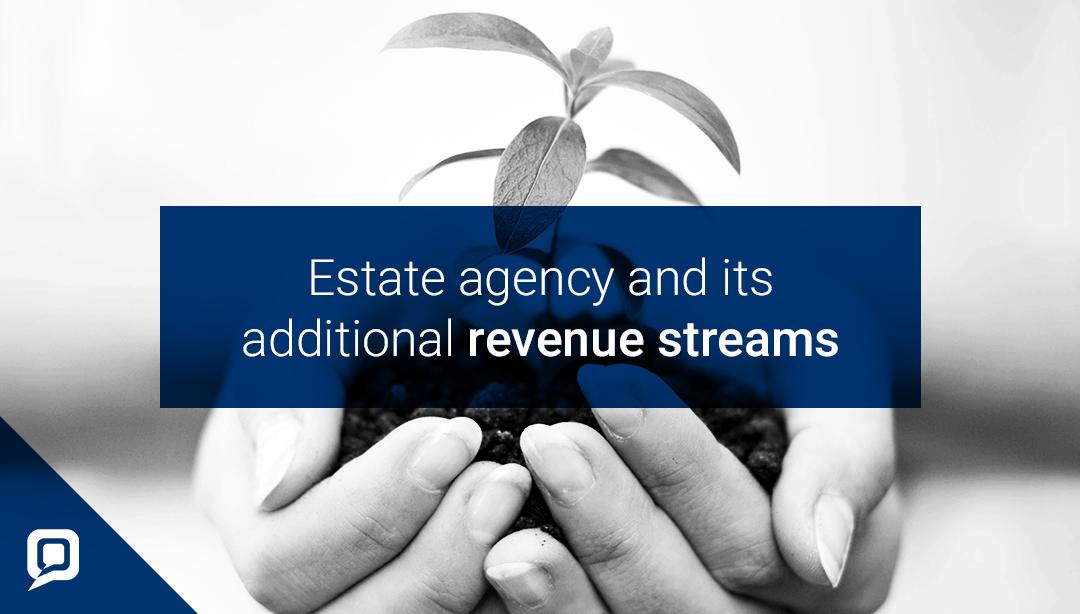 Revenue streams in estate agency blog cover