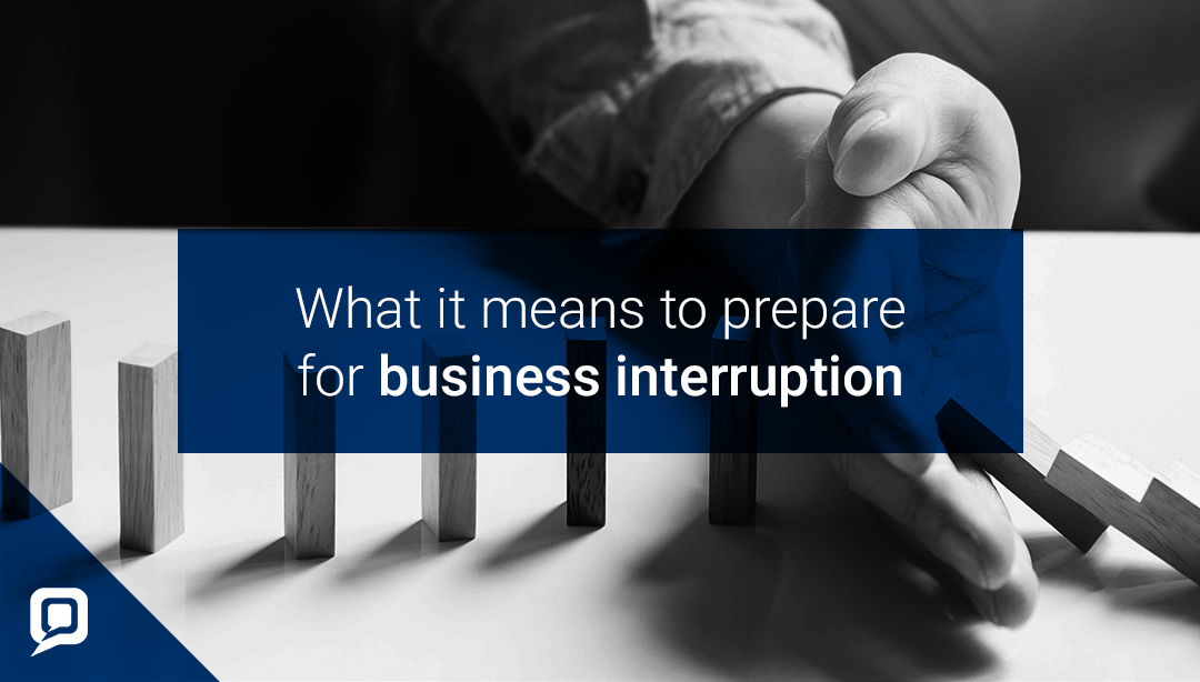 Estate agency and business interruption blog