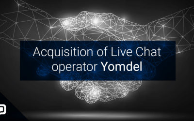 Acquisition of Live Chat operator Yomdel